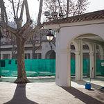 Visita a las obras de rehabilitación del recinto Ferial de Albacete