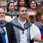 Misa Manchega con la participación del Grupo de Danzas Manchegas Magisterio y organizada por la Peña Templete con motivo de la Ofrenda de Flores