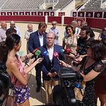 Presentación del pregonero de la Feria Taurina de Albacete 2019, Javier López-Galiacho. Foto: La Cerca - Manuel Lozano García
