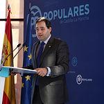 Paco Núñez, presidente del PP de Castilla-La Mancha y candidato a la Presidencia de la Junta de Comunidades