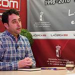 Alfonso Avendaño, alcalde de Lezuza. Foto: Manuel Lozano García / La Cerca