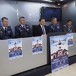 Presentación Jornada de Puertas Abiertas en la Base Aérea de Los Llanos