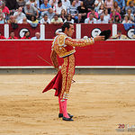 Pepe Moral - Su primer toro - Feria Taurina 08-09-18