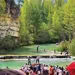 La ganchería, transporte de troncos por el río, es uno de los oficios tradicionales del Alto Tajo.