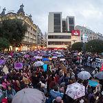 Manifestación por el Día Internacional de la Mujer en Albacete