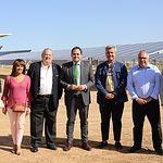 Inauguración de la Planta Solar Fotovoltáica de El Casar.