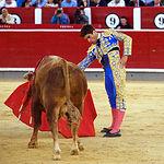 Rubén Pinar - Su segundo toro-5 - Feria Taurina Albacete - 14-09-16 - Para web