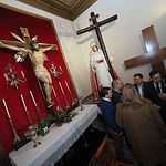 Paco Núñez se reúne con la Junta de Cofradías de Semana Santa, en la Catedral.