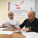 Firma del Convenio entre la FAVA y el Grupo de Comunicación La Cerca para la realización del programa Ciudadanía en Marcha