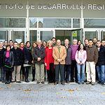 Equipo de trabajo de la Sección de Teledetección del IDR de la Universidad de Castilla-La Mancha que trabaja en el Proyecto SIRIUS.