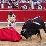 Feria taurina Albacete - Diego Carretero - Su primer toro.