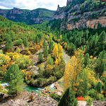 Castilla-La Mancha goza de paraísos naturales de gran belleza. En la imagen, el Parque Natural del Alto Tajo (Guadalajara).