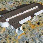 Reconstrucción virtual de la basílica del Tolmo de Minateda.