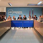 Paco Núñez en el Comité Dirección PP AB. Foto: PP CLM.