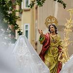 Procesión del Encuentro del Jueves Santo en la Semana Santa de Albacete 2019