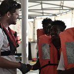 Barco Aquarius. Foto: Médicos Sin Fronteras.