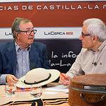 """Juan Cantos """"Pimpi de Albacete"""" y Manuel Lozano, director del Grupo Multimedia de Comunicación La Cerca."""