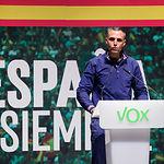 Rafael Fernández-Lomana, candidato al congreso de VOX por Albacete. Foto: Manuel Lozano Garcia / La Cerca