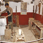 Algunas de las salas del completo Museo Etnográfico ubicado en la pedanía de Tiriez, en Lezuza (Albacete).