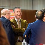Gala de Entrega de los X Premios Taurinos Samueles, pertenecientes a la Feria Taurina de Albacete 2015. En el centro de la imagen, Santiago Cabañero, presidente de la Diputación de Albacete.