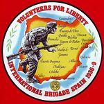 Mapa - Acciones de guerra. Fuente: Asociación de Amigos de los Brigadistas Internacionales.