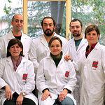 Foto del Grupo de Biología de la Reprodución de la Universidad de Castilla-La Mancha encabezado por Julián Garde.