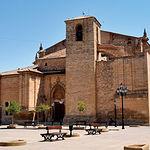 Iglesia de San Blas, declarada Monumento Nacional en 1977, en Villarrobledo (Albacete).