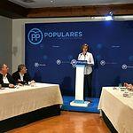 Cospedal preside la reunión con los presidentes provinciales PP CLM.