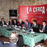 Imagen de los conferenciantes en una de las pasadas ediciones del Fórum Castilla-La Mancha Siglo XXI.