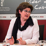 Encarni Rodríguez, Tesorera de la Asociación de Vecinos, Consumidores y Usuarios del barrio de Fátima