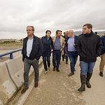 El presidente de Castilla-La Mancha, Emiliano García-Page, realiza una visita a las zonas del sureste de Albacete afectadas por el temporal. (Fotos: A. Pérez Herrera / JCCM).