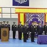 Acto oficial de celebración del Aniversario de la Policía Nacional.