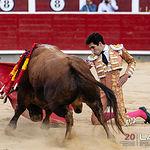 Feria taurina Albacete - Álvaro Lorenzo - Su primer toro.