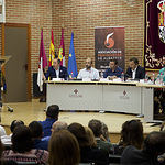 Debate de los candidatos a la alcaldía de Albacete organizado por la Asociación de Periodistas de Albacete, la Federación de Asociaciones de Vecinos, Consumidores y Usuarios de Albacete (FAVA), y la Facultad de Relaciones Laborales y Recursos Humanos de la UCLM en Albacete.