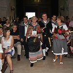 Miles de personas participan en la Ofrenda de Flores a la Virgen de los Llanos