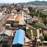Las minas, que en 1941 alcanzaron su récord de producción, han sido reconvertidas en Parque Minero. Foto: Almadén.