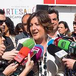 Patricia Franco, consejera de Economía, Empresas y Empleo de la JCCM, en la inauguración de la II Edición de Farcama Primavera en Albacete