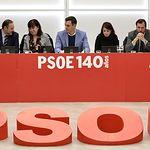 Reunión de la Comisión Ejecutiva del PSOE. 27-01-20. Foto: Inma Mesa Cabello