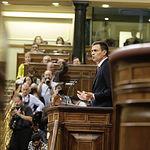 Pedro Sánchez - Congreso de los Diputados