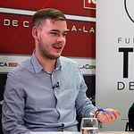 Bernat Bretó, estudiante de Economía y Derecho