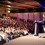 Paco Núñez, en el acto celebrado en Toledo junto al presidente del Partido Popular, Pablo Casado.