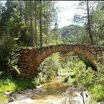 Serranía de Cuenca. Puente romano de Poyatos. Foto Blog Magia Serrana.