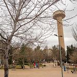 Depósito del Agua en el parque La Fiesta del Árbol en Albacete
