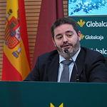 Rueda de prensa de la Fundación Globalcaja Horizonte XXII, en los servicios centrales de Globalcaja, para presentar la quinta edición de Start Up English.