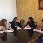 Reunión de María Díaz con Ganemos Ciudad Real.