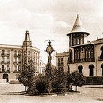 Antigua Plaza de Gabriel Lodares a principios del siglo XIX.