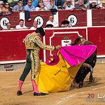 Feria taurina Albacete - Sergio Serrano - Su primer toro.