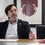 Artemio Pérez, presidente de la Confederación de Empresarios de Albacete. Foto: Manuel Lozano Garcia / La Cerca