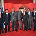 Trofeos Taurinos Feria de Albacete 2013 - Foto de grupo de premiados y autoridades.