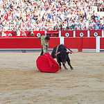 Perera - Su primer toro-4 - Corrida del 10-09-16
